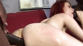 Andrea Sky Double Penetrated by Big Black Cocks Preview Image