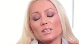 Hot Milf Diana Doll gives soapy handjob Preview Image