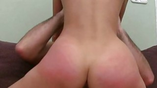 Sensational cock riding with nicelooking playgirl Preview Image