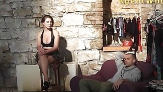 Sexy guy does interview about porn in_backstage clip Preview Image