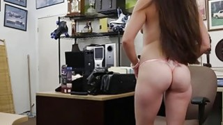 Ex dominatrix pounded by horny pawn man at the pawnshop Preview Image