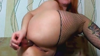 Busty Candy Playing her Dildo and Squirting on Web Preview Image