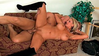 Sexy blonde woman dicked hard & deep Preview Image