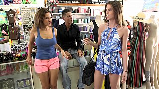 Sexy girlfriends decide to keep their friendship open Preview Image