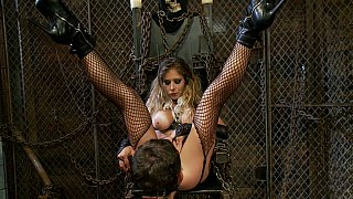 Divine babe BDSM hardcore fetish with bad guy Preview Image