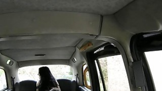 Lady in stockings banged by nasty driver in the backseat Preview Image