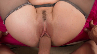 Molly Jane gets her pink, trimmed pussy filled with_wide cock Preview Image