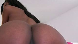 Ebony Teen perfect tits pink tight pussy Preview Image