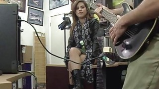 Pretty rockstar Lilith Shayton turns into pornstar when she get banged hard in the pawnshop Preview Image