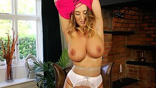 Busty in nylons Preview Image