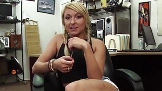Cute blonde teen gets fucked nicely in the_shop_by a huge cock Preview Image