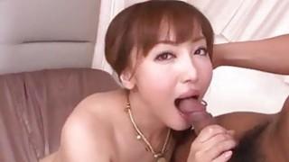 Mami Asakura fels cock in each of her holes Preview Image