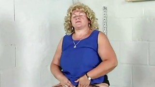 Blonde mature playing with her big boobs Preview Image