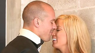 MILF stepmom and her date have sex with a horny teen Preview Image