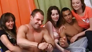 Naked dancing and wild group party sex Preview Image
