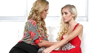 Devastated teen beauty pussy licked by her friends mom Preview Image