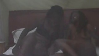 Young_African_Lesbians_Lick_Their_Moist_Pussies_In_Bedroom Preview Image