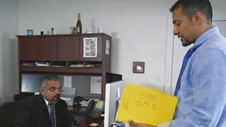 Fucking daddys employee at work in office Preview Image