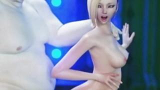 3D Fat Aliens Destroy Slim_Teens Preview Image