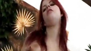 Redhead Seduces Guy And Rims His Asshole Before Using Strap-on Preview Image