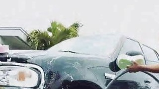 Carwash Teen Besties Fucking For Cash Preview Image