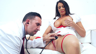 Reagan Foxx gets her soaking wet pussy licked by Dr. Lee Preview Image