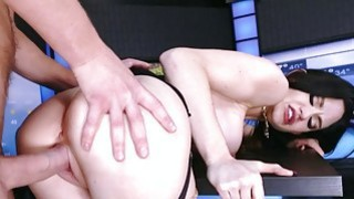 Brazzers Kendall Karson fucks the weather man Preview Image