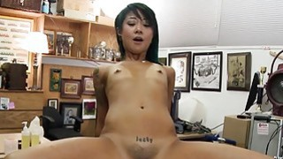 Skinny asian babe_nailed by pawn keeper Preview Image