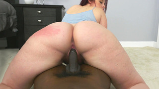 Virgo Peridot rode black cock while her ass giggled all over the place Preview Image