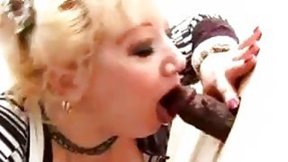 Big titted mature sucks_and fucks in gloryhole Preview Image