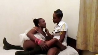 Gorgeous African lesbians_love toying their sweet_assholes Preview Image