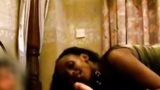 African Ebony Teen Blowjob Riding Cock Interracial Preview Image