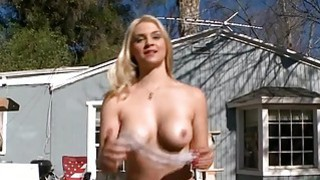 Oh the playgirl is performing blowjob on cam Preview Image