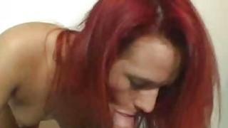 Amateur redhead does BJ until facial cumshot Preview Image