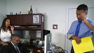 Mocha skin naughty_college girl sex at the office Preview Image