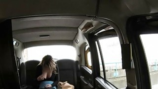Hot blonde babe gets her tight anal fucked in the cab Preview Image