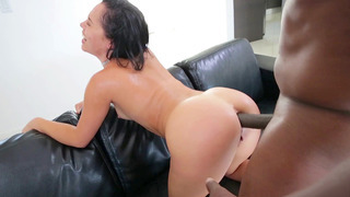 Kristina Rose endures an_interracial anal doggie-style sodomy Preview Image