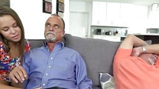 Liza Rowe got pounded hard by dad's friend Preview Image