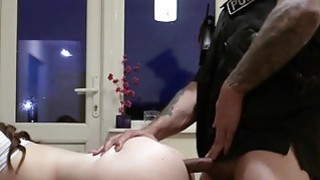 Fake cop anal fucks busty amateur babe till facial Preview Image