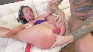 Veronica Avluv gets her_prolapsed anus stuffed with long cock Preview Image