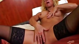 Victoria Using Dildo And Giving Head In Bedroom Preview Image