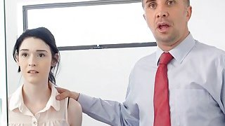MILF boss wants big dick employee to fuck her asshole Preview Image