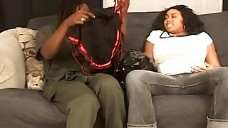 Chunky black pregnant girlfriend takes monthly sperm supply with exboyfriend Preview Image
