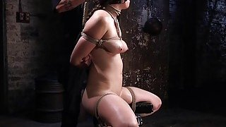 Busty slave anal and pussy punished Preview Image