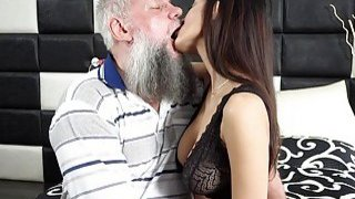 Morning Breakfast sex OLD YOUNG Teen handjob fuck Preview Image