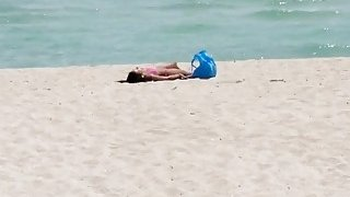 Some horny old perverts pick up hot Latin teen on a beach and fuck her good Preview Image