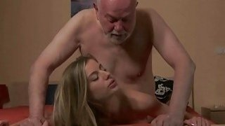 Young Secretary Fucks old man boss fucks beautiful Preview Image