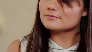 Hot Brunette Adria prank Gia_Paige with a_Panty Raid in her room Preview Image