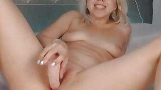 Horny Blonde Teen Cum With Her New Sex Toy Preview Image