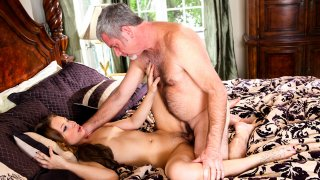 Teen hooked to her sweet step dad affection Preview Image